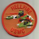 HELLFIRE USMC PATCH MISSILE ROCKET HELICOPTER WEAPON