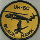 UH-60 BLACK HAWK HELICOPTER PATCH USA HELO AIRCRAFT PILOT ARMY NAVY USMC USAF