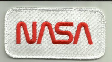 NASA UNIFORM PATCH ASTRONAUT SPACE SHUTTLE SPACE STATION UNIVERSE MOON STARS USA
