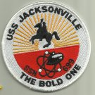 USS JACKSONVILLE SSN-699 US.NAVY PATCH NUCLEAR SUBMARINE SAILOR USA NUKE WAR