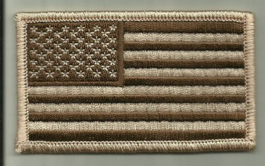 TWO - USA DESERT FLAG PATCHES USMC U.S.ARMY NAVY USAF SOLDIER INFANTRY WARRIOR
