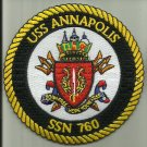USS ANNAPOLIS SSN-760 U.S.NAVY PATCH nuclear-powered attack submarine SAILOR USA