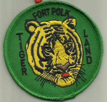 FORT POLK U.S.ARMY BASE PATCH TIGERLAND SOLDIER WARRIOR INFANTRY