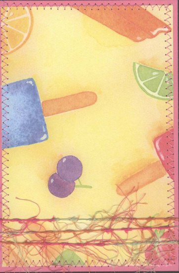 Summer Time Popsicle Journaling Block