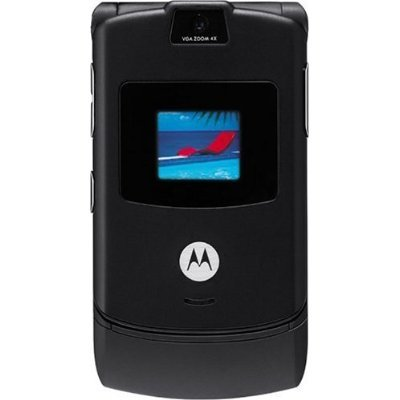 new motorola v3 gsm razr unlocked cingular at t phone black. Black Bedroom Furniture Sets. Home Design Ideas