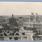 Vintage Photo ROME 1920s/1930s BIRDS EYE VIEW Cartes De Viste