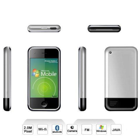 M88 Quadband PDA Phone With Windows 6.0 WIFI & JAVA 4GB !