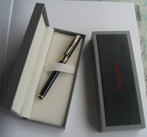 Gold-plated Gel Pen W/T Ceramic Ball For High-Rank Officials,Military Officers or Big Bosses