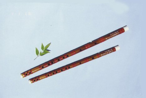 JY-103-Deluxe Sound-fixed White Bamboo Flute