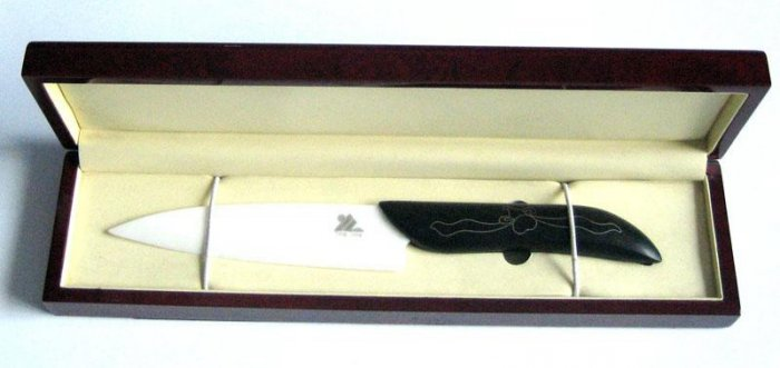 Ceramic Knife W Sandal Handle No.5