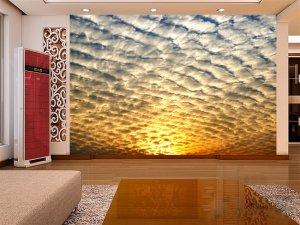 Wall Mural Wall Decor Wall Art--Sky-Clouds