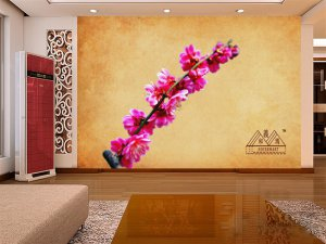 Wall Mural Wall Decor Wall Art--Plum Blossom