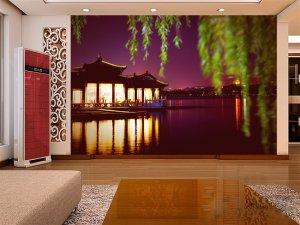 Wall Mural Wall Decor Wall Art--Hangzhou West Lake