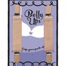Belly Ups Maternity Suspenders in BEIGE