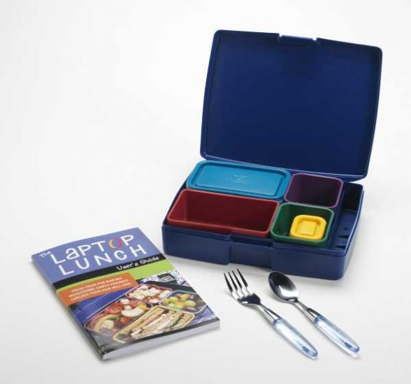 Laptop Lunches Bento Box Lunch Box in PRIMARY