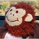 Zooni handmade hat CHUNKEE MONKEY - Xsmall