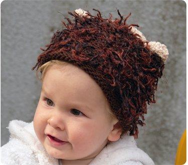 Zooni handmade hat CHUNKEE MONKEY - Large