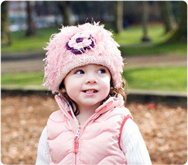 Zooni handmade hat FLOWER POWER - Large