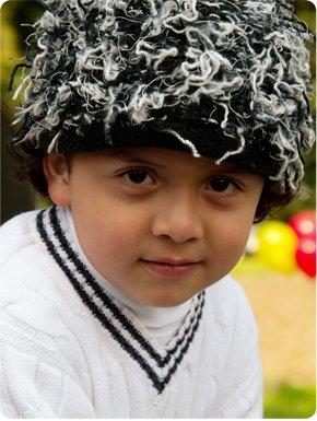 Zooni handmade hat HIPSTER - Medium