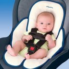 Kiddopotamus Snuzzler carseat head + body support - NAVY