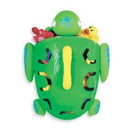 GREEN Munchkin Super Scooper - Bath Turtle Toy Storage