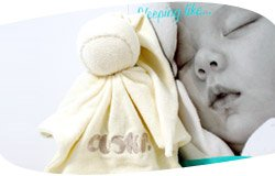 Cuski Original Comfort Doll - CREAMEE