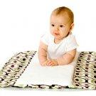 Ah Goo Baby Plush Pad - portable diaper changing station - SPA design