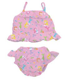 iPlay two-piece Tankini with Swim Diaper - 6m - PINK