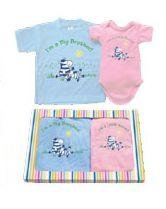 Big Brother Little Sister matching gift Tshirt set - 2T