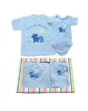 Big Brother Little Brother matching gift Tshirt set - 2T