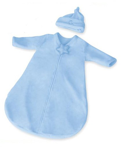 Kiddopotamus Dreamsie in BLUE Velboa - Small