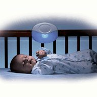 Munchkin Voice Activated Crib Light with timer and womb sounds
