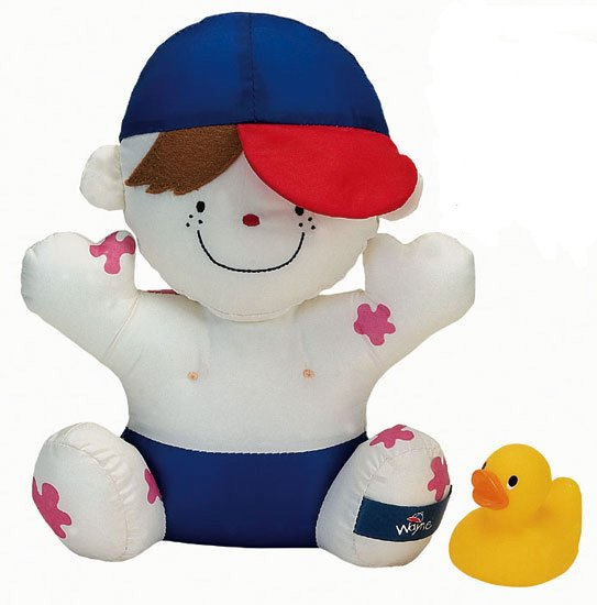 K's Kids Wayne Needs a Bath toy doll