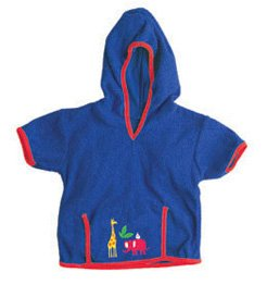iPlay Swim Sun cover-up Hoodie - JUNGLE - 6-12 m