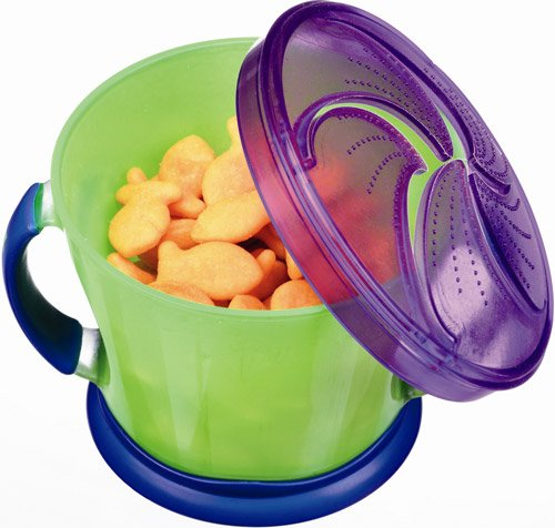 Munchkin Snack Catchers pack of 2 - Blue + Purple