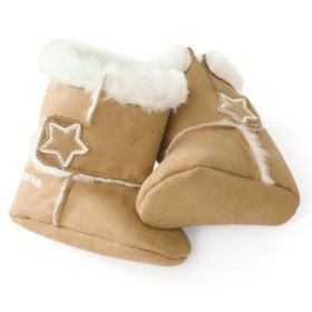 Kiddopotamus High Top booties - FAWN - 6-12 m