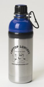 Laptop Lunch 18 oz Stainless Steel water bottle