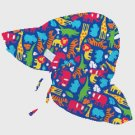 iPlay Boys Sun Hat with UPF 50 - JUNGLE - 0-6m