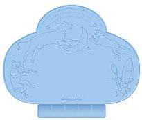 Kiddopotamus Tiny Diner portable placemat - Blue