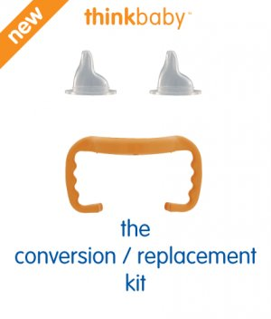 Think Baby Conversion/Replacement Kit Sippy Trainer Cup Kit