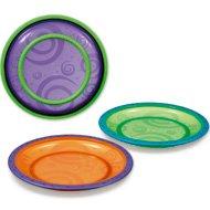 Munchkin Toddler Plates 3pk, BPA-free