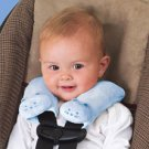 Kiddopotamus CushyStraps Cushioned Carseat Strap Covers - BLUE