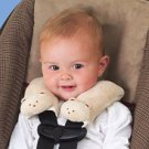 Kiddopotamus CushyStraps Cushioned Carseat Strap Covers - FAWN