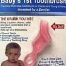 Angel Care Baby's First Toothbrush - PINK
