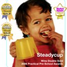 Steady Cup Toddler Open Trainer Cup - YELLOW