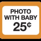 WRY Baby 'Photo with Baby 25 cents' Snapsuit, 6-12m