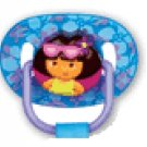 Dora the Explorer infant pacifiers w Benny the Bull - 6+m