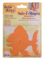 Baby Buddy Safe T Shapes bath appliques - DUCKS