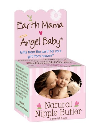 Earth Mama Angel Baby Organic Natural vegan Nipple Butter