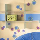 WALLIES prepasted wallpaper cutouts - Small HOT DOTS
